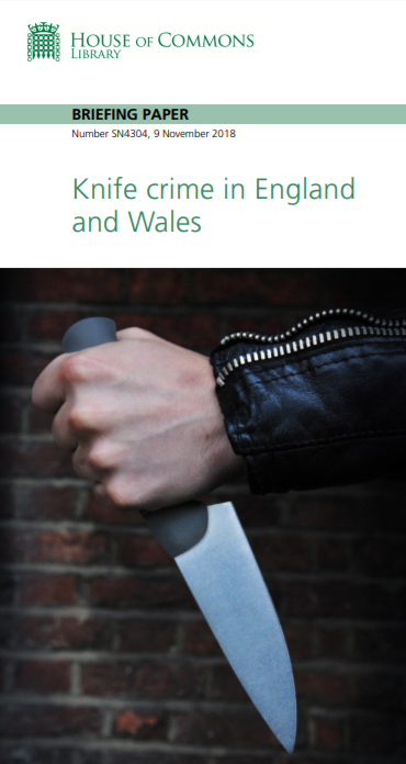 Knife Crime in England and Wales briefing paper