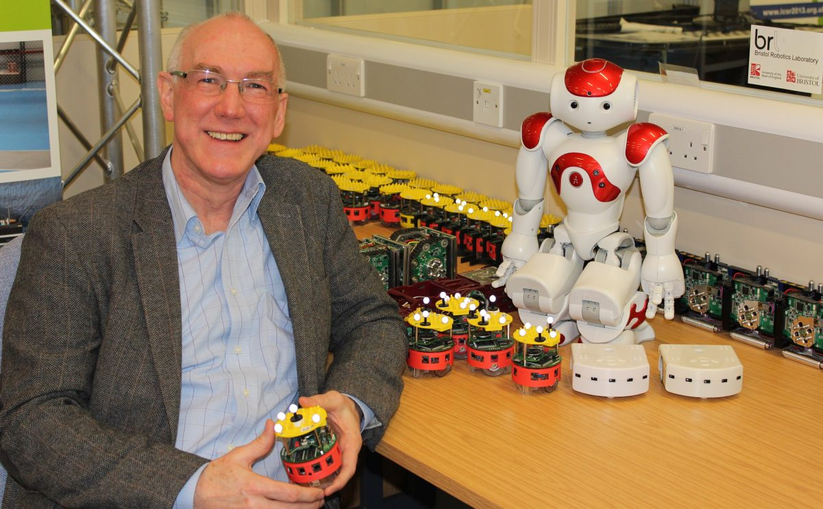 Alan Winfield – paving the way for ethical robots