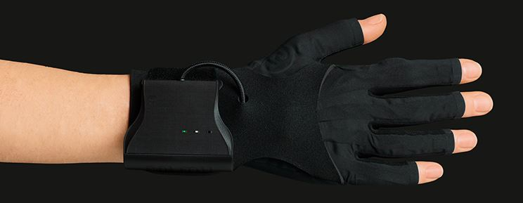 Gestural musical gloves, developed at UWE, available on pre-order