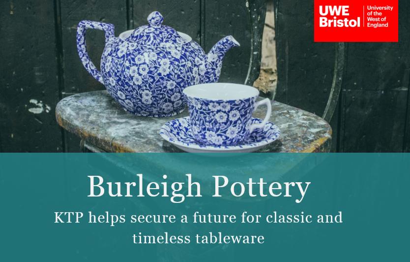 KTP Case Study: Burleigh Pottery