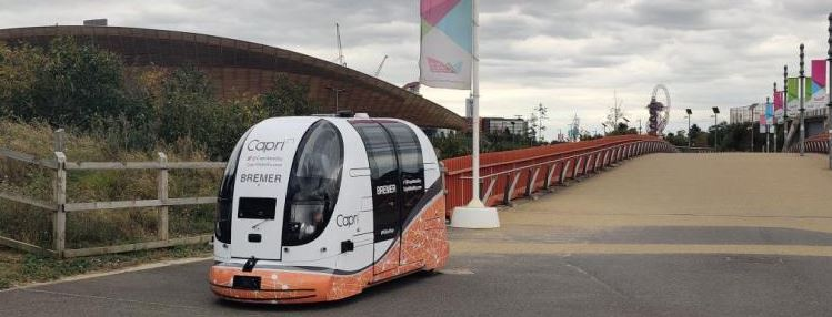 UWE Academics help in public trial of driverless pods