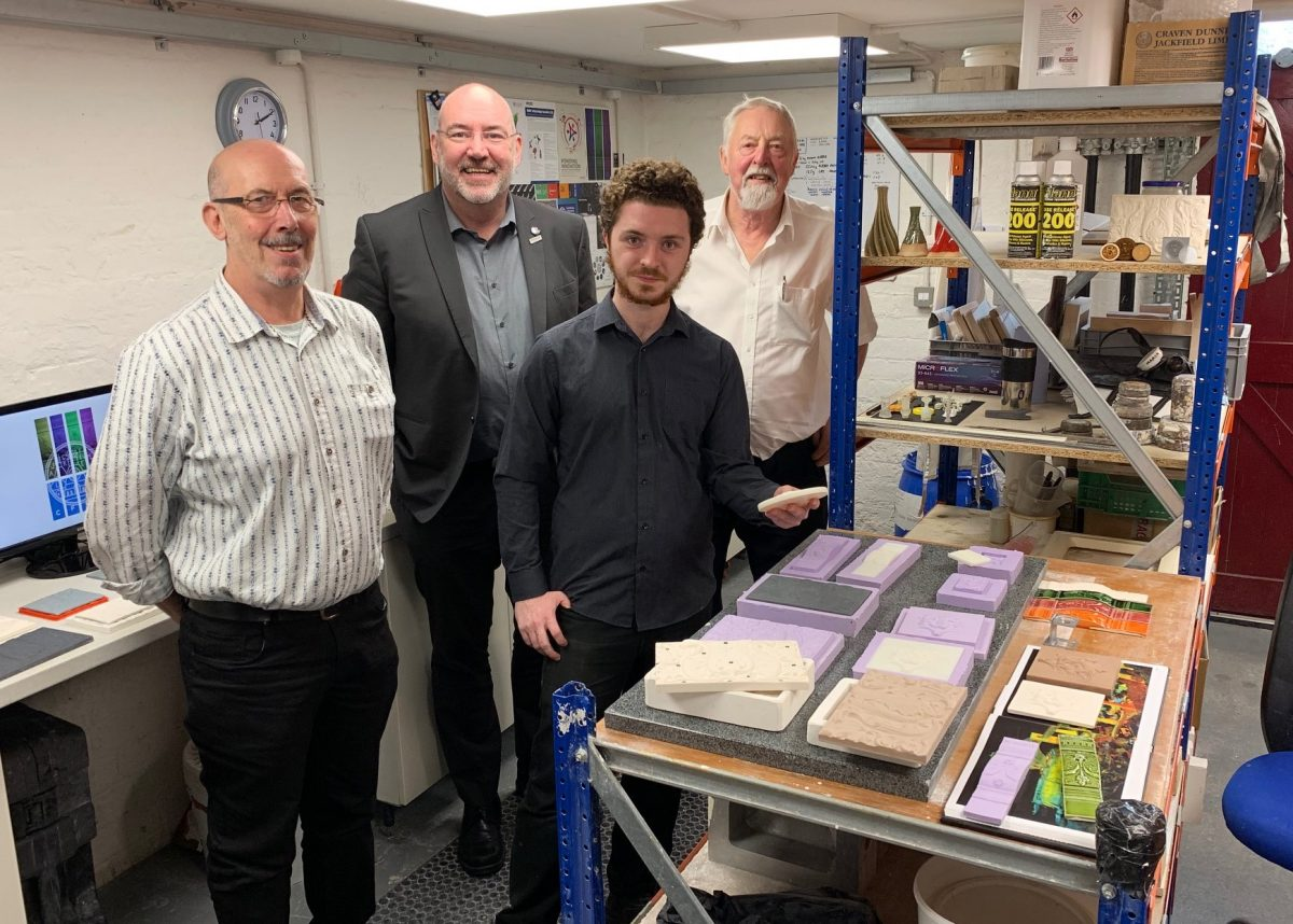 Knowledge Transfer Partnerships: Craven Dunnill Jackfield Associate Spotlight