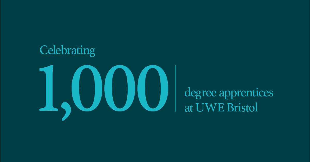 Celebrating 1,000 Degree Apprenticeships at UWE Bristol