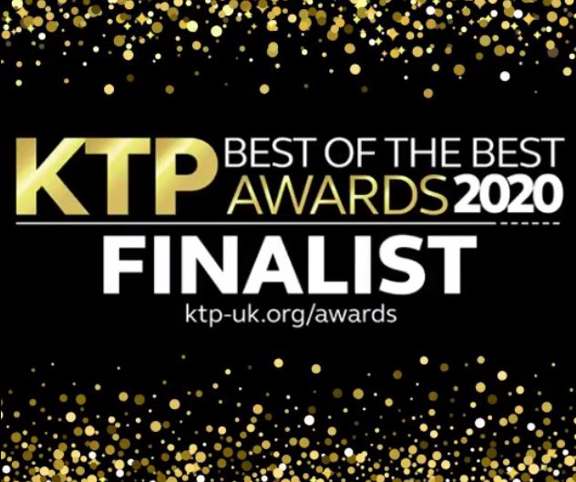 KTP Project with Viper Innovations Nominated for KTP Best of the Best Awards 2020