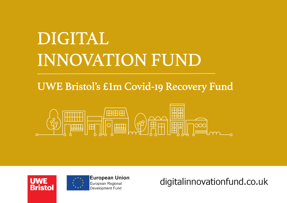 The Digital Innovation Fund is now live: UWE Bristol announces a second round for its £1m Covid-19 Recovery Fund