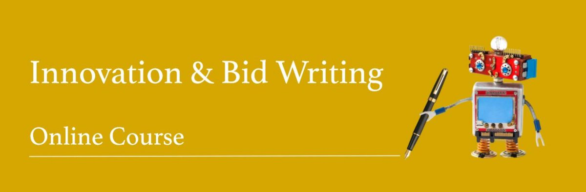 Free online Innovation & Bid writing course, open to SMEs