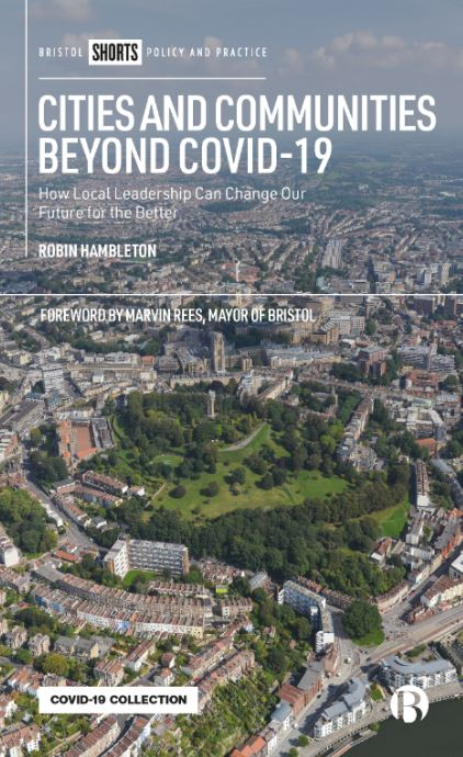 New book by Robin Hambleton on Cities and Communities Beyond COVID-19