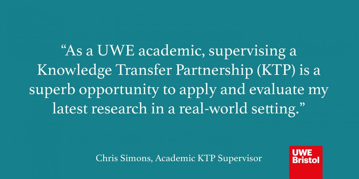 A History of Knowledge Transfer Partnerships at UWE Bristol