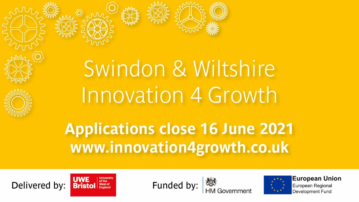 UWE Bristol launches new funding scheme to support SMEs with research and development projects in Swindon & Wiltshire