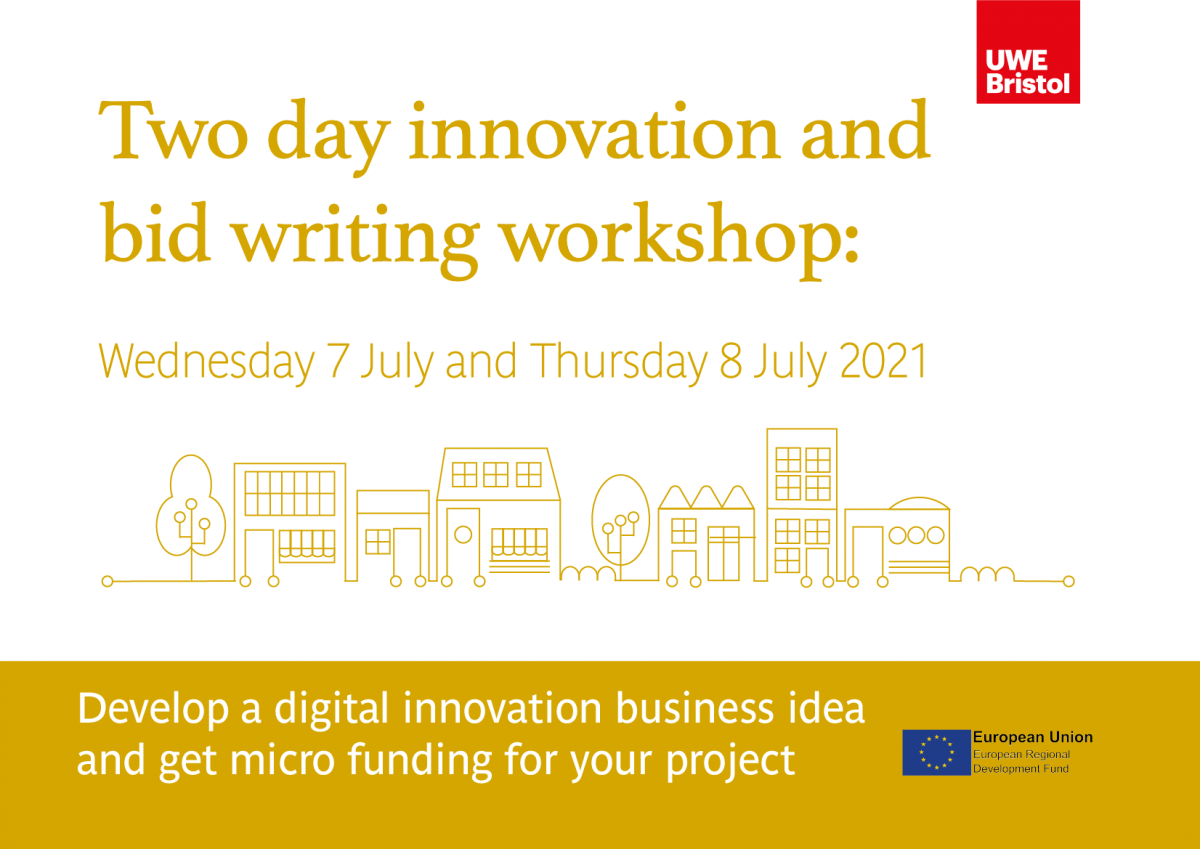 Free two day Innovation and bid writing workshop for SMEs