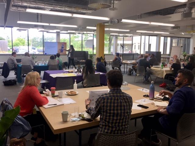 Innovative SMEs gather to develop their digital innovation business ideas