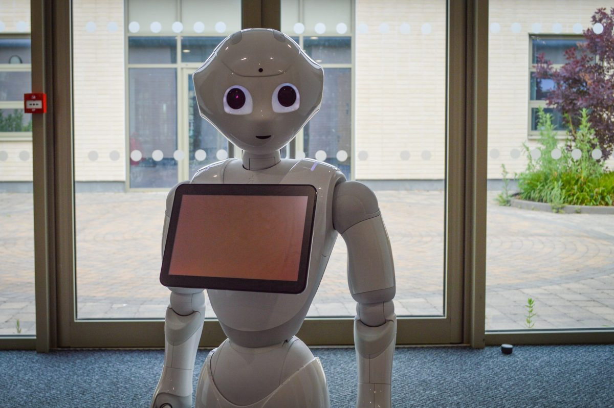 UWE researchers use socially intelligent robot in a school to support autistic young people