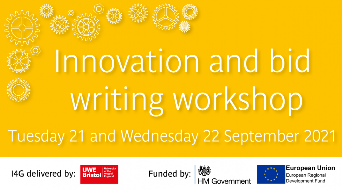 Two-day Innovation and bid writing workshop