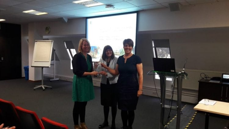 SCU's Laura Fogg-Rogers scoops award for science teaching project