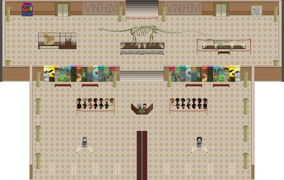 Raising the game – evolutionary education in a virtual museum